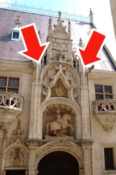 Porterie palais ducs
